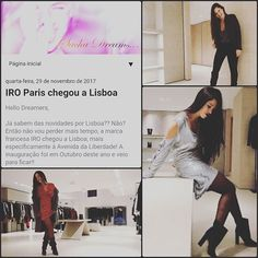 New post on www.sachadreams.blogspot.pt IRO Paris arrived to Lisbon 😲🤗😍 Paris, About Me Blog, News, Pinterest Home Page, Lisbon, Montmartre Paris, Paris France
