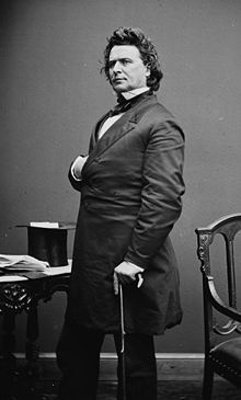 James Mitchell Ashley of Ohio, Editor of Dispatch & Gov. of Territory of Montana (He also helped Mr. Lincoln pass amendment abolishing slavery while a congressman from Ohio. United States Constitution, Toledo Ohio, Civil War Photos, American Life, History Photos, African American History, American Civil War, Black History