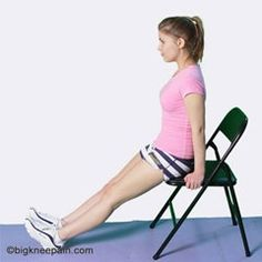 Exercises for knee pain.
