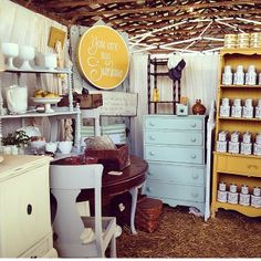 Southern Honey Workshop booth   The Strawberry Patch barn sale   The Barn Sale Business