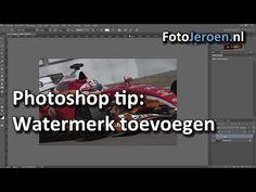 Hoe maak je een watermerk in Photoshop? Stap voor stap uitleg. - YouTube