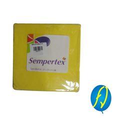 SERVILLETA AMARILLA SEMPERTEX, un producto más de Piñatería Fiesta Virtual de Colombia - lo puedes ver en http://bit.ly/2rwCZGN. #FiestaVirtual