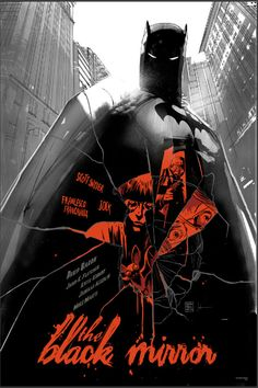 Art from Mondo's Batman gallery show