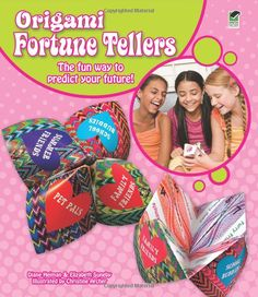 Another cootie catcher book for girls.