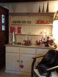 Upcycled pine dresser
