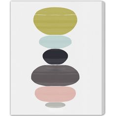 """Oliver Gal """"Perfect Balance"""" by Artana Graphic Art on Wrapped Canvas & Reviews 