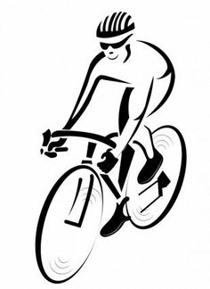 Bicycle Art, Bike Art, Bike Racer Print, Bicycle Wall Art