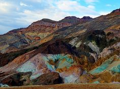 Artists Palette - Death Valley.  I dream of taking my child there.  Mid-summer is simply amazing!  One of the most inspiring places I have ever traveled to.