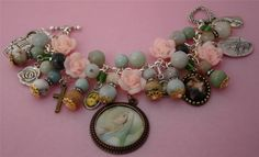 Our Lady of Mental Peace Christian Catholic Charm Handcrafted Bracelet / Jewelry, Patron Saints Medals - on Etsy, $38.00