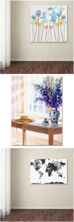 Shop Target for unframed wall canvas you will love at great low prices. Free shipping on orders of $35+ or free same-day pick-up in store. Watercolor Projects, Abstract Watercolor, Watercolor Paintings, Flower Watercolor, Watercolors, Easy Canvas Painting, Painting & Drawing, Wall Canvas, Canvas Art