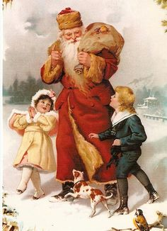 December 6th is the feast name day of Saint Nicholas (280-342), patron saint of children. Saint Nicholas was a Greek bishop from Myra, which is present day Turkey.  He became the patron saint of children based on various legends.