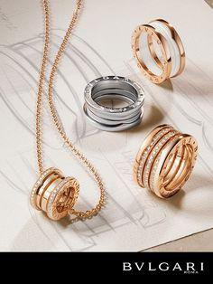 64d75175f5c B.zero1 Rings. 14k Gold JewelryBulgari ...