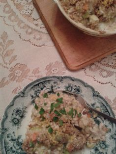 Chicken and Bacon Pearl Barley Bake from my blog I'd Much Rather Bake Than...