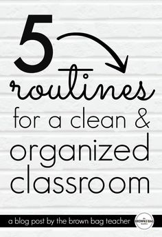 5 Simple Tips for an Organized Classroom that don't involve staying after school to clean. I love the tip for pencils!!