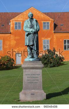 The sculpture of the great storyteller Hans Christian Andersen in Odense. Denmark by Alexander A.Trofimov, via ShutterStock