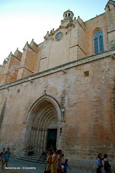 Catedral Ciutadella | Flickr: Intercambio de fotos #menorcamediterranea