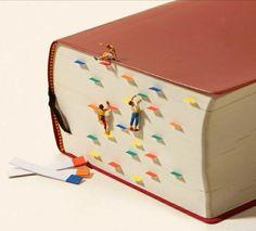Climb into a good book