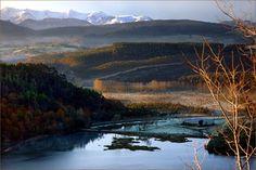 CANTABRIA WINTER LANDSCAPE