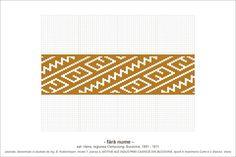 Semne Cusute: Romanian traditional motifs Tapestry Crochet, Pattern Books, Hama Beads, Beading Patterns, Pixel Art, Cross Stitch Patterns, Diy And Crafts, Outdoor Blanket, Symbols