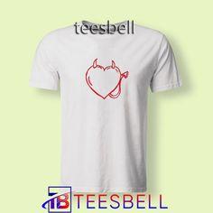 T shirt shirt. Tops and tees. Ceylon Tee, Tshirt Dress Outfit, Shirts For Teens, Cute Shirts, Devil, Cool Designs, Shirt Designs, Unisex, Tees