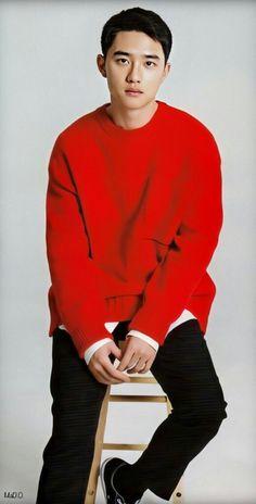 Kyungsoo, Chanyeol, Exo Lockscreen, Exo Do, Do Kyung Soo, Asian Style, My Boyfriend, Cute Boys, Men Sweater