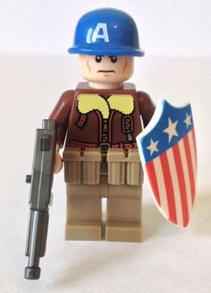 Captain America Custom Minifigure