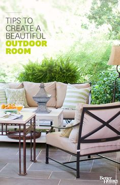 Take your patio from tired to terrific this spring with these inspired ideas! http://www.bhg.com/home-improvement/patio/24-patio-perk-ups/?socsrc=bhgpin021515keepitprivate&page=6
