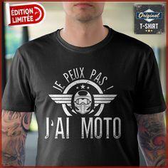 Je suis un motard je fais ce que je veux quand je veux drôle Motorcycle Club Bikers T-shirt