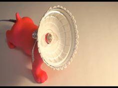 DIY 왈왈!! 베이비 퍼그 조명 만들기_BABY PUG LIGHT_LE LAMP BEBE PUG EN ARGILE