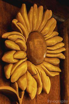 Carved SunFlower
