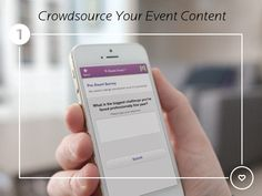 Keep all of your event engagement tools under one roof. From live polls to post-event surveys, EventMobi lets attendees interact with speakers seamlessly. Big Challenge, No Response, Challenges, Marketing, Iphone