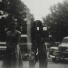 Self Portrait, 1950 by Saul Leiter photographer