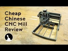 Review: Cheap CNC Mill - YouTube Cnc Plasma Cutter, Router Jig, Drone Technology, Cnc Machine, Metal Working, 3d Printing, Youtube, Natural Building, Milling