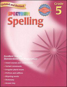 Spectrum language arts grade 2 repost free ebooks download spectrum spelling gr 5 fandeluxe Choice Image