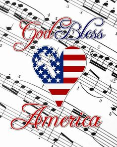 God Bless America FREE Printable