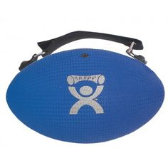 The Cando Handy Grip weight ball is designed with an ergonomic shape that facilitates better grasp for users. In addition, its texture surface minimizes slipping. On top of that, it is fitted with an adjustable strap for a more secure hold.  Shaped like a football, the Cando Handy Grip weight ball is color-coded according to weight levels.