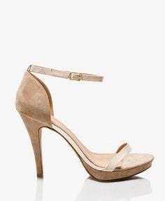 Colorblocked Platform Sandals | FOREVER21 - 2027704414