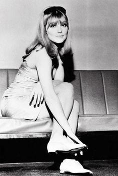 Sharon Tate, London - 1965.