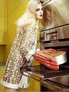 Deranged Domestic Editorials - Home Works by Miles Aldridge is a House Fire Hazard (GALLERY)