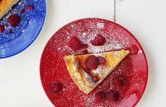 Ranskalaiseen tyyliin valmistettu kevyt jälkkäritorttu syntyy jogurtista ja kananmunista.