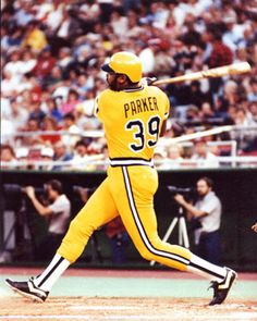 Former NL MVP, Dave Parker, of the Pittsburgh Pirates