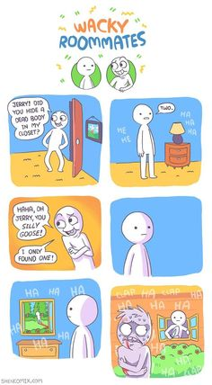 See more 'Shen Comix' images on Know Your Meme! Shen Comics, Owlturd Comics, Cute Comics, Funny Comics, Really Funny Memes, Stupid Funny Memes, Funny Relatable Memes, Mau Humor, Laugh Track