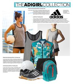 """""""Show Off Your AdiGirl Style: Contest Entry..."""" by glamorous09 ❤ liked on Polyvore"""