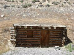 Free dugout replica in Manti, Utah in the Mormon Pioneer Heritage Area and #historichighway89