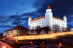 Among the other beautiful places in Eastern Europe you can visit Bratislava Slovakia on 2020 New Year holidays Europe Packages, International Holidays, Bratislava Slovakia, Europe Holidays, Air Tickets, Europe Destinations, Most Beautiful Cities, Eastern Europe, Places Around The World