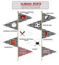 ALABAMA Tailgate Party Picks: Crimson Tide by HoundstoothbyJenn