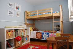 Colin & Archer's Peaceful, Playful Blue Room — My Room