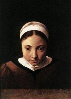 cornelis van poelenburch, Young girl