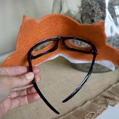 Halloween Diy, Halloween Decorations, Halloween Halloween, Animal Costumes For Kids, Animal Masks For Kids, Diy For Kids, Crafts For Kids, Fox Mask, Kids Dress Up