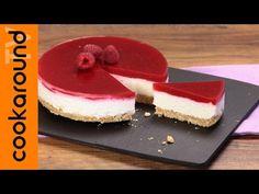 Cheesecake ai frutti di bosco, fredda, senza cottura, semplice e veloce - YouTube